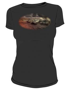 Koszulka damska czarna WoT 7