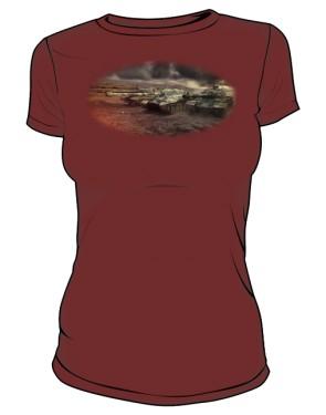 Koszulka damska brązowa WoT 7