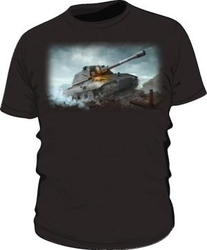 Koszulka damska czarna WoT 6