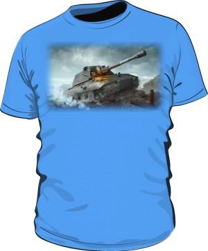 Koszulka damska błękitna WoT 6