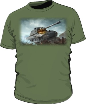 Koszulka damska khaki WoT 6