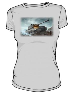 Koszulka damska szara WoT 6