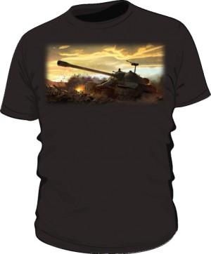 Koszulka męska czarna WoT 5
