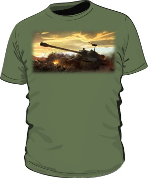 Koszulka męska khaki WoT 5