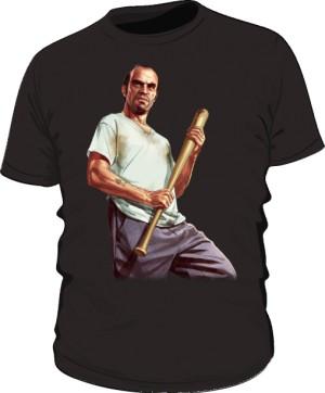 Koszulka czarna GTA Trevor