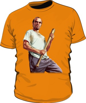 Koszulka pomarańczowa GTA Trevor