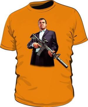 Koszulka pomarańczowa GTA Michael