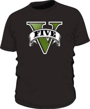 Koszulka czarna GTA V
