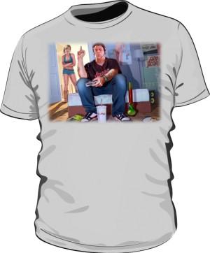 Koszulka szara GTA GTFO