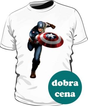 Koszulka biała Kapitan Ameryka 2