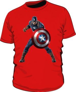 Koszulka czerwona Kapitan Ameryka 3