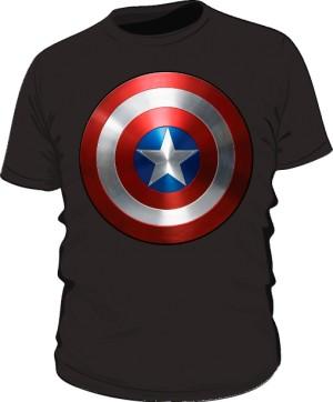Koszulka czarna Tarcza