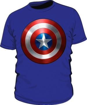 Koszulka niebieska Tarcza