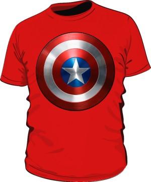 Koszulka czerwona Tarcza