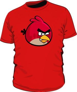 Koszulka męska czerwona Red