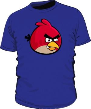 Koszulka męska niebieska Red