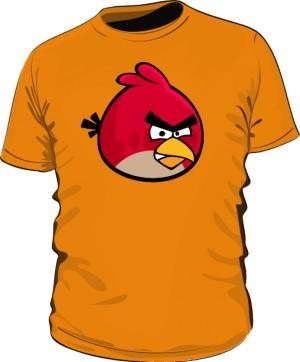Koszulka męska pomarańczowa Red