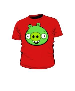 Koszulka dziecięca czerwona Pig