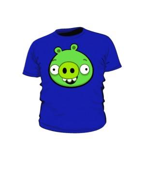 Koszulka dziecięca niebieska Pig