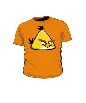 Koszulka dziecięca pomarańczowa Yellow