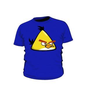 Koszulka dziecięca niebieska Yellow