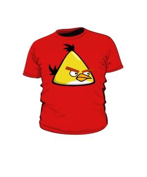 Koszulka dziecięca czerwona Yellow