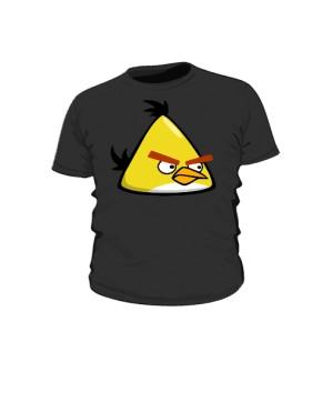 Koszulka dziecięca czarna Yellow