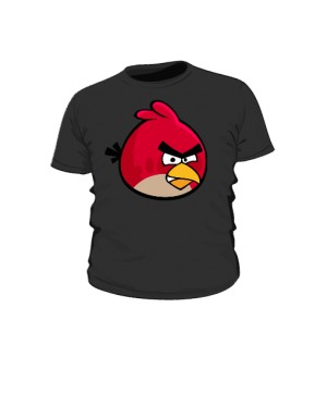 Koszulka dziecięca czarna Red
