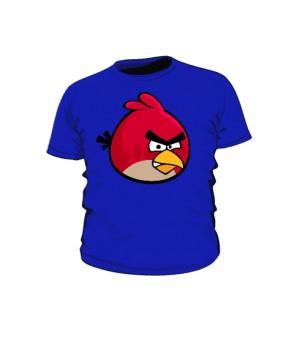 Koszulka dziecięca niebieska Red