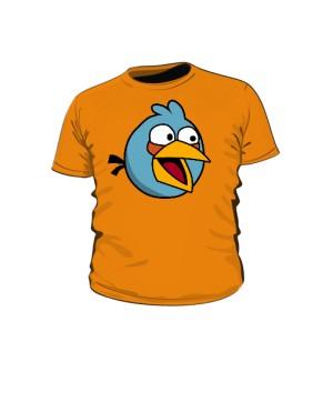Koszulka dziecięca pomarańczowa Blue