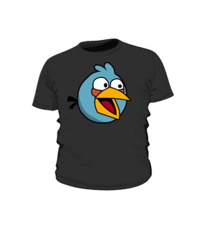 Koszulka dziecięca czarna Blue