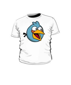 Koszulka dziecięca  biała Blue