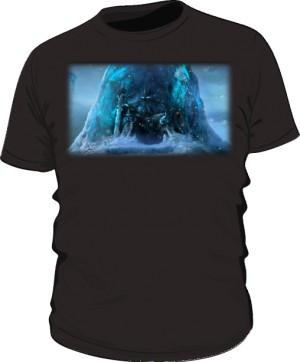 Koszulka męska czarna Frozen Throne