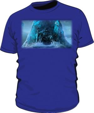 Koszulka męska niebieska Frozen Throne