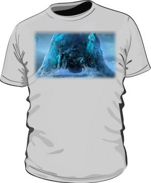 Koszulka męska szara Frozen Throne