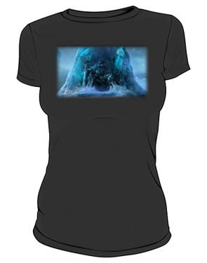 Koszulka damska czarna Frozen Throne