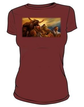 Koszulka damska brązowa Union