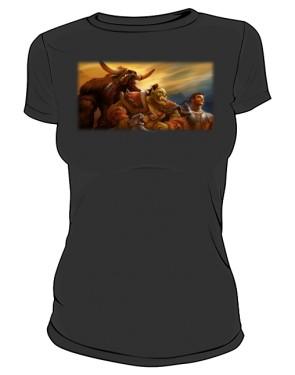 Koszulka damska czarna Union