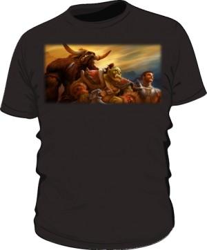 Koszulka męska czarna Union