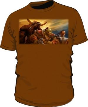 Koszulka męska brązowa Union