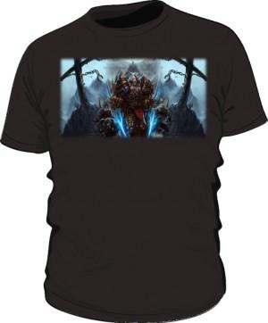 Koszulka męska czarna Rogue