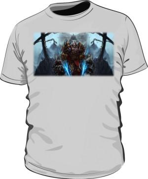 Koszulka męska szara Rogue