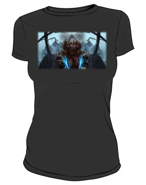 Koszulka damska czarna Rogue