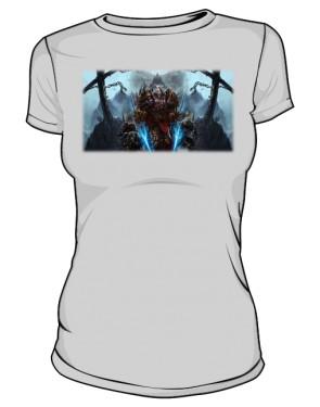 Koszulka damska szaraa Rogue