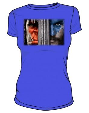 Koszulka damska niebieska Alliance