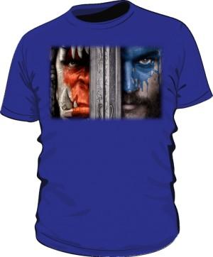 Koszulka męska niebieska Alliance