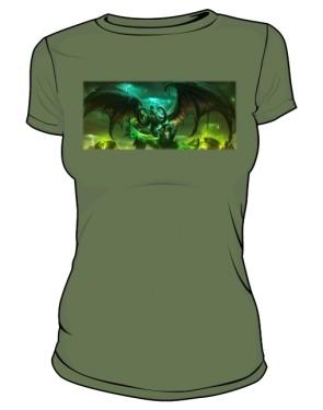 Koszulka damska khaki Legion