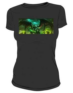 Koszulka damska czarna Legion