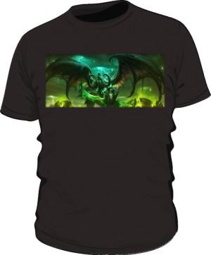 Koszulka męska czarna Legion