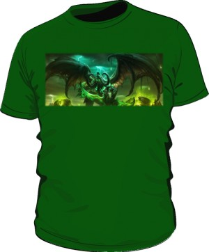 Koszulka męska zielona Legion